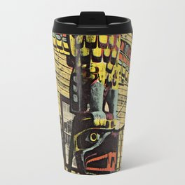 An Alaskan Totem Pole Travel Mug