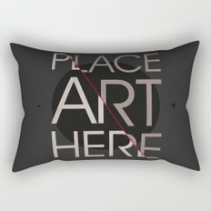 The Art Placeholder Rectangular Pillow