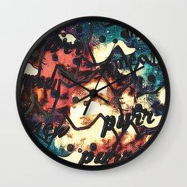cat-344 Wall Clock