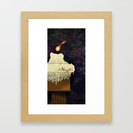 La sentinella / The sentinel Framed Art Print