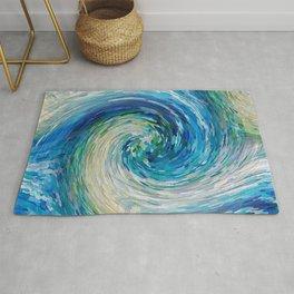 Wave to Van Gogh III Rug