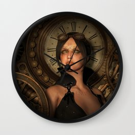 Steampunk Time Keeper Wall Clock