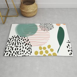 Abstract Modern Pattern 7 Rug