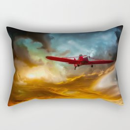 Through The Abyss Rectangular Pillow