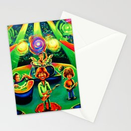 phish live cartoon band tour 2020 ngamein Stationery Cards