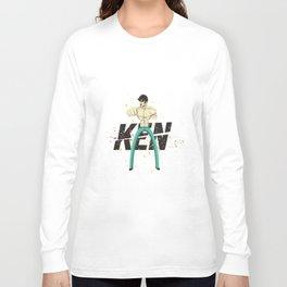 Kenshiro doesn't look at explosions Long Sleeve T-shirt