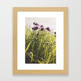 Chive -tastic!!! Framed Art Print
