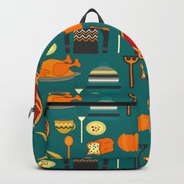 Family dinner Backpack