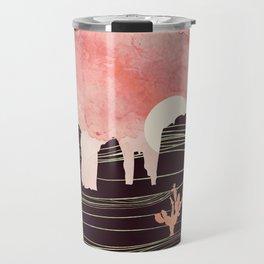 Rose Desert Travel Mug