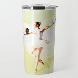 Bailarina yellow Travel Mug