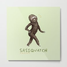 Sassquatch Metal Print