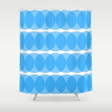 providan (blue) Shower Curtain
