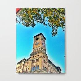 Old City Hall, Tacoma Clock Tower Metal Print
