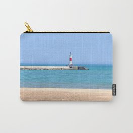 LIGHTHOUSE ON LAKE MICHIGAN Carry-All Pouch