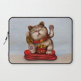 Maneki-neko Beckoning cat Laptop Sleeve
