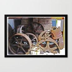 IronWheels Canvas Print
