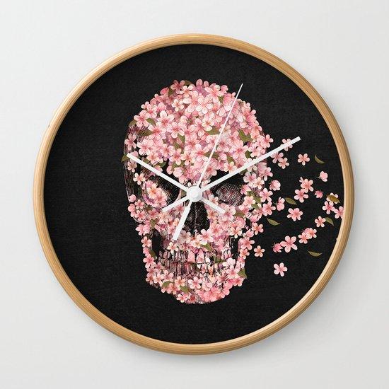 A Beautiful Death  Wall Clock