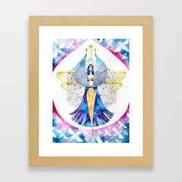 Bee Fairy Framed Art Print