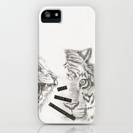 Fuck! I love you so fucking much! iPhone Case