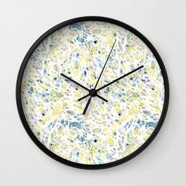 Marbled Organic Pattern Wall Clock