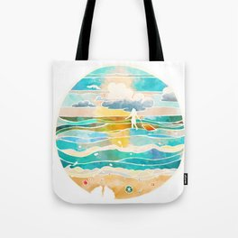 Bittersweet waves Tote Bag