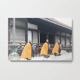 3 Monks Metal Print