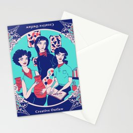 Women Artists (Creative Outlaws) Stationery Cards