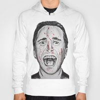 american psycho Hoodies featuring American Psycho by Haley Erin