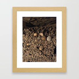 We Are All the Same in the End Framed Art Print