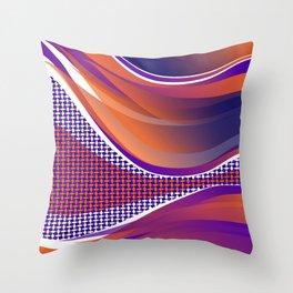 Curves 02 Throw Pillow