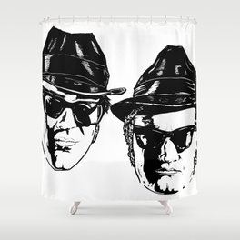 The Blues Brothers - Can You See The Light? Shower Curtain