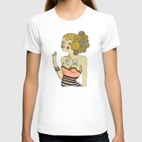 bride T-shirts featuring Sea Bride by Lilla Bölecz