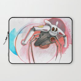 attack of the bunny bot Laptop Sleeve