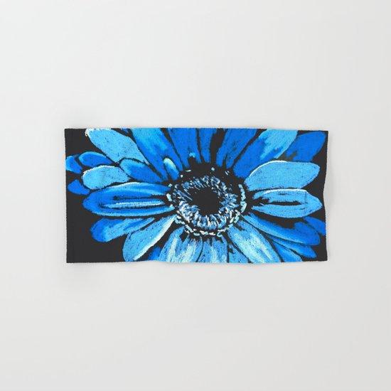 Blue flower Hand & Bath Towel