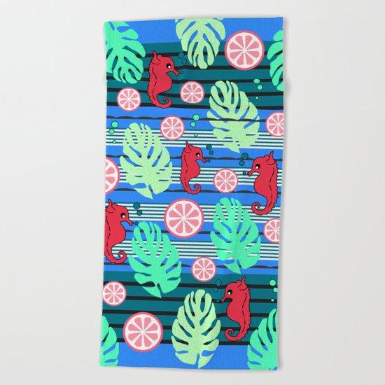 Fruity underwater Beach Towel