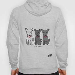 3 Musketeers, I Love Bali Dogs Hoody