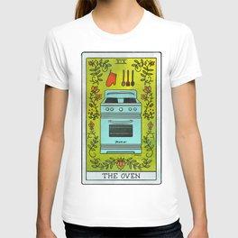 The Oven   Baker's Tarot T-shirt