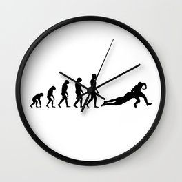 Evolution Rugby #7 - Tackle Wall Clock