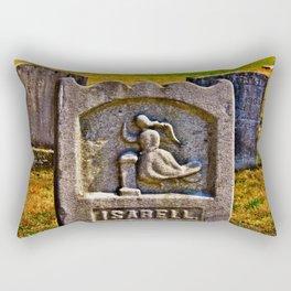 Isabell's Beauty Lingers Rectangular Pillow