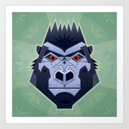 Gorillabot Art Print