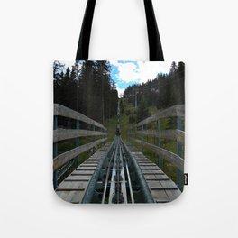 adventure park hög schneisenfeger coaster alps sfl tyrol austria europe Tote Bag
