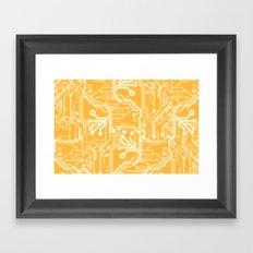 Phalanx  Framed Art Print