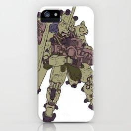 Zaku iPhone Case