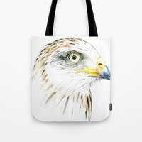 animal crew Tote Bags featuring Animal by Andreas Derebucha