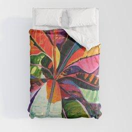 Kauai Croton Leaves Comforters