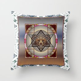 *Caged Star* Throw Pillow
