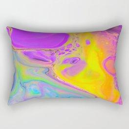 Tripping on Rainbows Rectangular Pillow