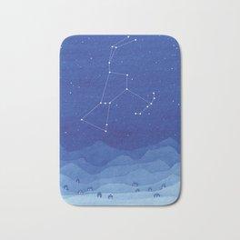 Orion Constellation, mountains Bath Mat