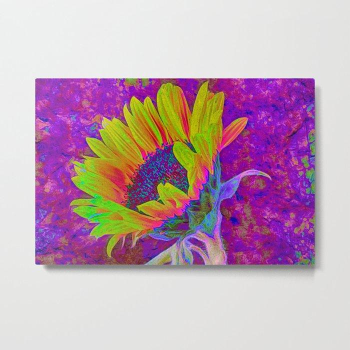 Sunflower Summer Metal Print
