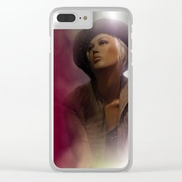 showcased -18- Clear iPhone Case